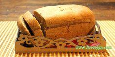 Pão integral vegan de liquidificador