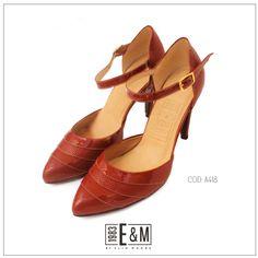 #zapatos #shoes #rojo #ByElioMoore