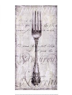 Natalie Wood Panel Wall Art Spoon Fork And Knife