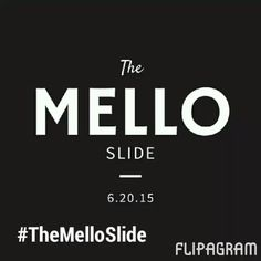 The Mello Slide is coming!! Want to know what it is! Join me live with Dj Mello T tomorrow at 1pm. Bit.ly/mellointerview #marketing #entrepreneur #smallbusiness #inspiration #entrepreneurs #content