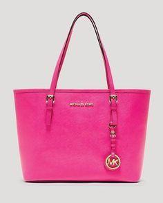 shopstyle.com: MICHAEL Michael Kors Tote - Jet Set Travel Small #CheapMichaelKorsHandbags com michaels kors handbags,