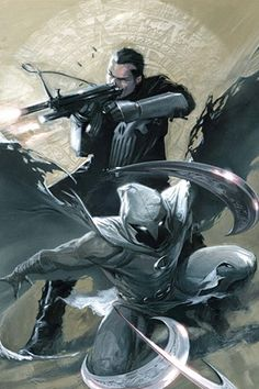 Moon Knight & The Punisher