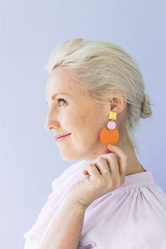 DIY Paper Earring -