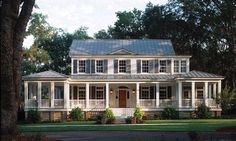 Enjoy the autumn breeze on the porches of these beautiful homes.