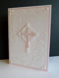 Christening by sistersandie - Cards and Paper Crafts at Splitcoaststampers