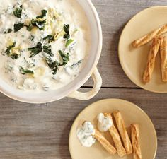 Spinach and Artichoke Fondue #Vitamix Use code 06-006499 for free shipping on any blender purchase at Vitamix.com