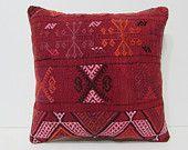 primitive decoration 18x18 sofa cushion cover retro fabric turkish fabric sham sofa cushion knitting pillow cover bohemian pillow case 25707