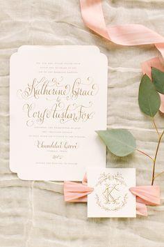 Elegant Southern Farm Wedding in Texas Elegant Wedding Invitations, Wedding Stationary, Wedding Invitation Cards, Wedding Cards, Monogram Wedding Invitations, Wedding Album, Invitation Paper, Invitation Design, Invites