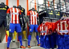 Inaugurada la tienda del Atlético de Madrid en la Gran Vía
