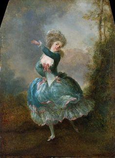 Жан Фредерик Шалл - Танцовщица. Музей Метрополитен, часть 4