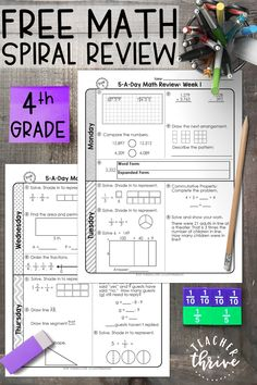 5 Free Math Worksheets Sixth Grade 6 Decimals Division Dividing 2 Digit Decimals by A Decimal whole Number Quotients 1443 Best Math Resources images in 2020 worksheets 4th Grade Math Worksheets, Math Resources, Spiral Math, Common Core Math Standards, Was Ist Pinterest, Daily Math, Fourth Grade Math, Math Practices, Free Math
