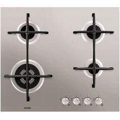 Buy AEG Gas Hob, Stainless Steel from our Hobs range at John Lewis & Partners. Oven And Hob, Kitchen Board, Kitchen Ideas, Cooker Hoods, Minimal Home, Quality Kitchens, Oven Range, Kitchen Accessories, Euro