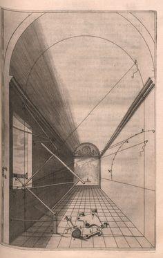 Hans Vredeman de Vries, Perspective, 1604   Fluchtpunkt ...