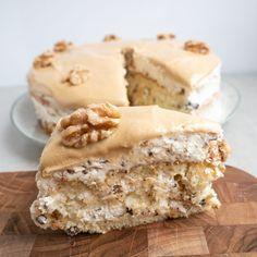 Danish Cake, Danish Food, Köstliche Desserts, Delicious Desserts, Yummy Food, Sweet Cakes, No Bake Cake, Yummy Cakes, Amazing Cakes