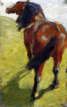 Franz Marc.  With the outbreak of war in 1914, the Blue Rider was forcibly dissolved. Kandinsky, a Russian national, was repatriated to Russia for the duration, as were other Russian group members. Both Franz Marc and August Macke enlisted and died in battle. (                                                                                                                                                      Mehr