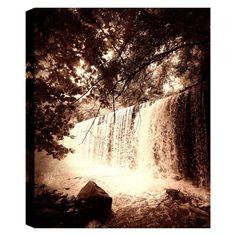 Hobbitholeco Deep Waterfalls Wall Art - TURKONL153