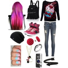 """School"" by hayleycavanaugh on Polyvore"