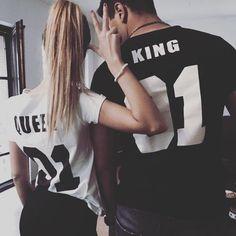 king and queen 01 couples tee  neeeeed