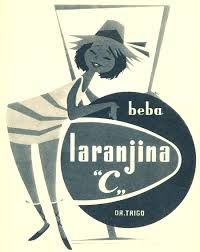 publicidade portuguesa antiga laranjina C