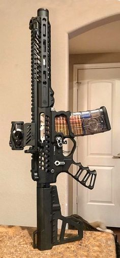 Build Your Sick Cool Custom Assault Rifle Firearm With This Web Interactive Firearm Builder with ALL the Industry Parts - See it yourself before you buy any parts Military Weapons, Weapons Guns, Airsoft Guns, Guns And Ammo, Custom Guns, Glock 17 Custom, Custom Ar15, Concept Weapons, Assault Rifle
