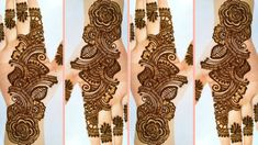 Simple Arabic Mehndi Designs, Easy Mehndi, Henna Designs, Mehndi Tattoo, Mehndi Art, Mehndi Patterns, Mehndi Brides, Henna Artist, Bridal Mehndi