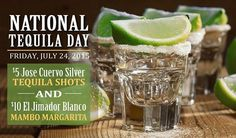 Celebrate #NationalTequilaDay at Cozymels Coastal-Mex! Specials: $5 Jose Cuervo Silver #Shots and more! #KentsDeals