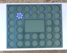 Custom Harley Davidson or Casino Poker Chip Display Frame Insert 11 X 14
