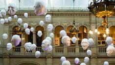 Kelvingrove Art Gallery and Museum. Kelvingrove's Hanging Heads exhibit ...