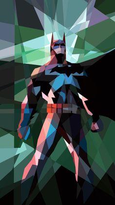 Batman mosaic