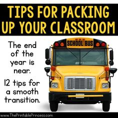 From one teacher to another, helpful tips to get you ready for summer! The end of the school year can be stressful. There is so much to do and so little time. But with a little planning you can easily get your classroom ready for summer with little to NO