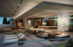 Modern #Deck #Patio #Design | Victoria 40 - Cape Town, South Africa | SAOTA Commercial Architecture, Interior Architecture, South African Homes, Dream House Interior, Contemporary House Plans, Unusual Homes, Conceptual Design, Modern Interior Design, House Design