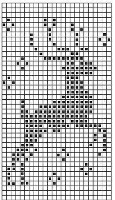 filet crochet Chart for christmas jumper 2013 Xmas Cross Stitch, Cross Stitch Charts, Cross Stitch Designs, Cross Stitching, Cross Stitch Embroidery, Christmas Cross Stitch Patterns, Christmas Charts, Jumper Patterns, Christmas Jumpers