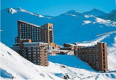 Hotel at Valle Nevado. Sky Resort, Grand Hotel, South America, Caribbean, Around The Worlds, Landscape, Chi Chi, Cityscapes, Resorts