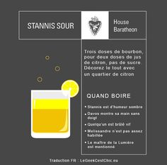 """House Baratheon: 6 Perfect Cocktails To Enjoy During Tonight's """"Game Of Thrones"""" Finale Game Of Thrones Premiere, Game Of Thrones Theme, Game Of Thrones Funny, Davos, Game Of Thrones Cocktails, Got Finale, Raspberry Gin, Bitter Lemon, Bourbon"""