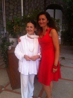 Con Carla Fracci