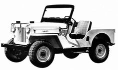 JEEP: A Brief History <> Jeep CJ-3B: 1953–1968 <> The Jeep CJ received extensive updates for 1953 as the CJ-3B, with a taller hood and grille to fit a larger Hurricane engine that produced 25 percent more horsepower than the previous engine. Production of the CJ-3B lasted for 15 years — more than 155,000 were sold. In 1953 Henry J. Kaiser purchased Willys-Overland for $60 million, and the Kaiser Company began research and development to expand the Jeep product range.  © FCA US LLC