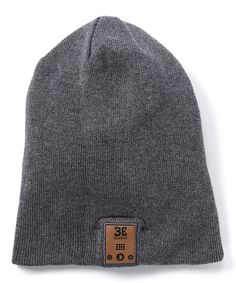 Look at this #zulilyfind! Charcoal Bluetooth 24/7 Beanie by BE Headwear #zulilyfinds