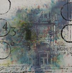 Mixed Media Mittwoch - Brusho - Idee und Umsetzung zum Just Stamps Challenge…