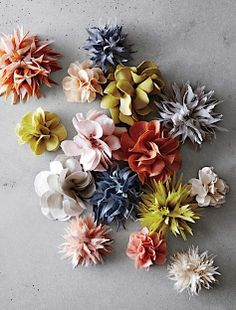Our 12 favourite free handmade flower craft tutorials | Craftseller
