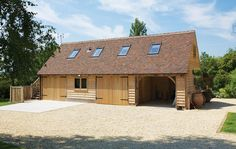 Our Products - Oak Framed Buildings Garage Building Plans, Building A Shed, Garage Plans, Garage Ideas, Oak Framed Buildings, Run In Shed, Build Your Own Shed, Free Shed Plans, Shed Doors
