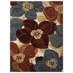 Threshold™ Exploded Floral Area Rug