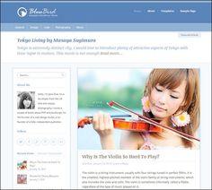 BlueBird – Beautiful WordPress Theme for Personal Blogging