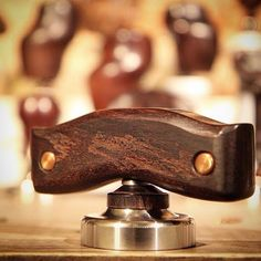 One of the 80 pieces coffee tamper design in my exhibition @secawannsuch visit us for viewing pleasure #coffee #tamper #antique #rosewood #316L_stainless #handmade #art #design #latteart #latte#srartwork #discover #coffeeart #connect #promote #talnts #repost#Art_Spotlight #coffeelover #coffeegram #coffee_inst#art_help#pro_artist #art_help #barista #baristatools#freedomthinkers #nothingisordinary #onlyone#tampbetter