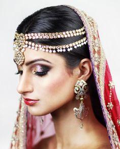 Traditional Indian Bridal Makeup - Leena Makeup Artist