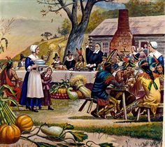 The First Thanksgiving: A Look at the Menu — Food News