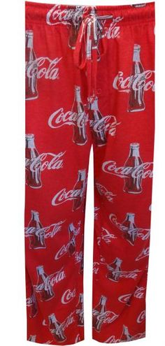Coca Cola Classic Bottles Big And Tall Lounge Pants