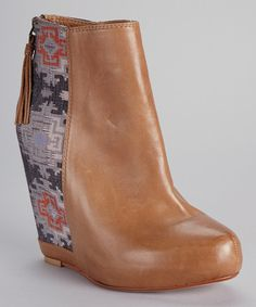 Another great find on #zulily! Ella Moss Sienna Janelle Wedge Ankle Boot by Ella Moss #zulilyfinds
