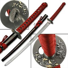 Tiger Sand Garden Samurai Sword w/ Double Edged Blade. ive personaly owned this blade. its beautiful. and at only 25$ its a steal. i completely recomened any collector to have this in there colection