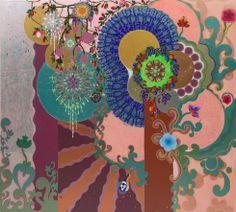 Collection Online   Beatriz Milhazes. The Four Seasons (As Quatro Estações). 1997 - Guggenheim Museum