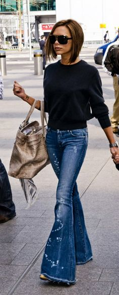 Victoria Beckham <3 Love this! style #jeans #fashion